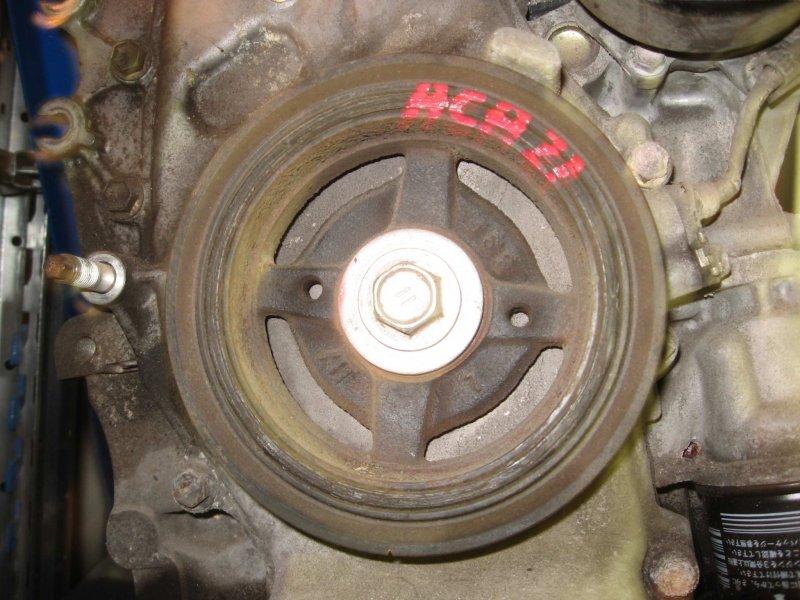 Шкив коленвала Toyota Rav4 ACA21W 1AZ-FSE 2004