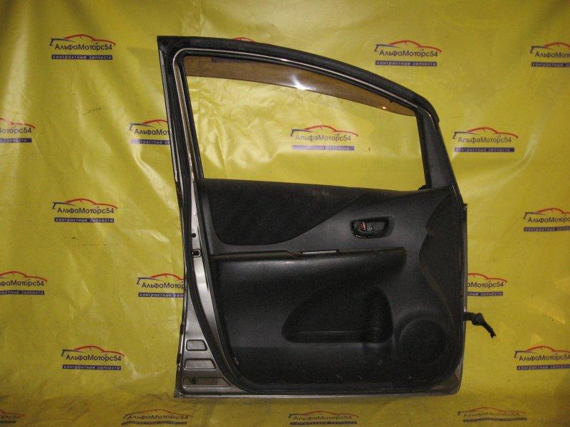 Ручка двери внутренняя Toyota Ractis NCP100 1NZ-FE 2006 передняя левая