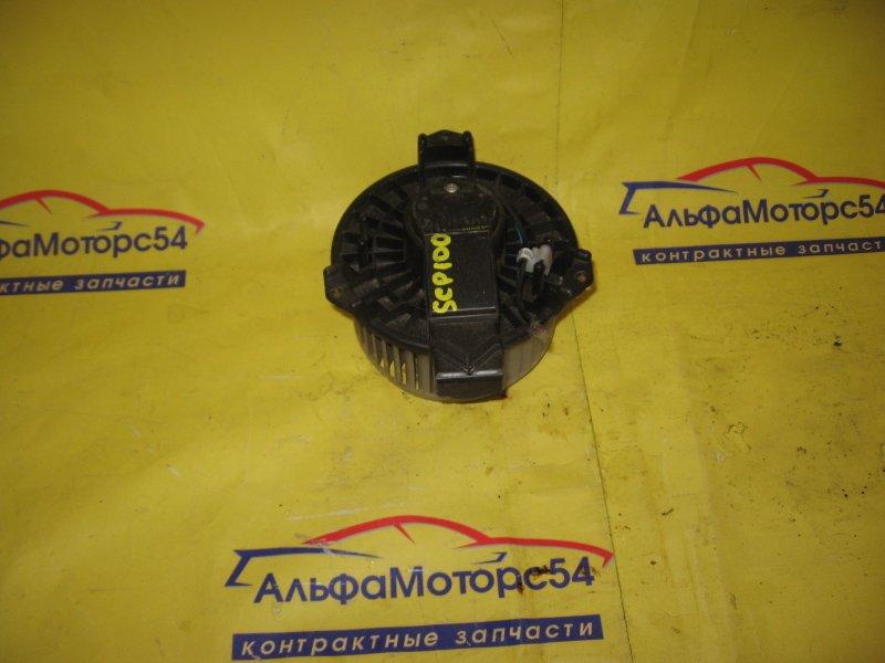 Мотор печки Toyota Ractis SCP100 2SZ-FE 2006