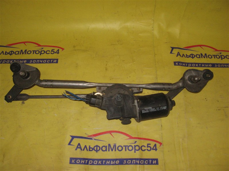 Мотор дворников Toyota Probox NCP51 1NZ-FE 2007 передний