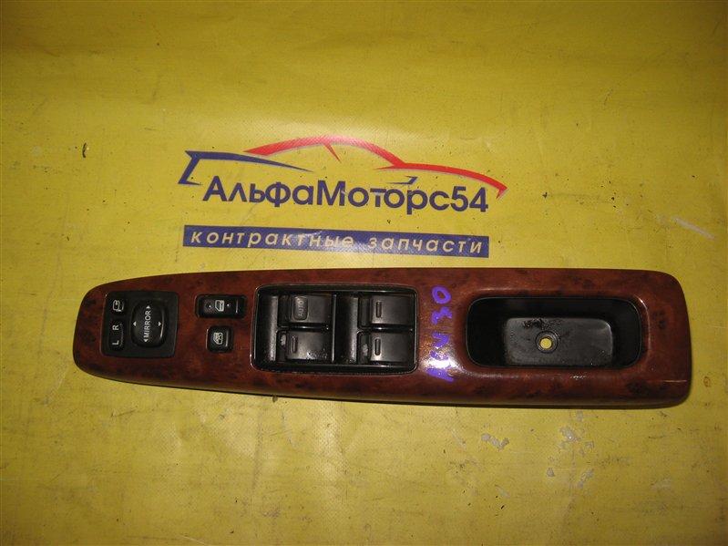 Блок управления стеклоподъемниками Toyota Camry ACV30 2AZ-FE 2003 передний правый