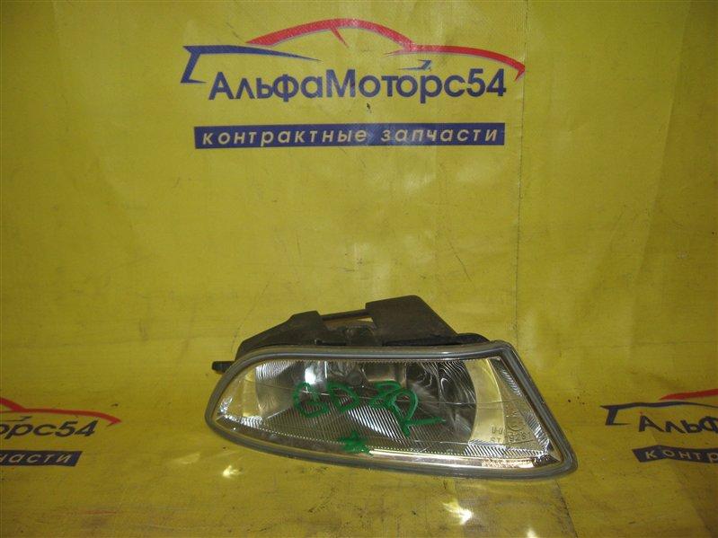 Туманка Honda Fit Aria GD8 L15 передняя правая