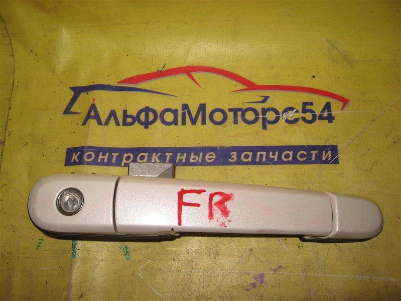 Ручка двери Nissan Primera P12 QR20DE 2002 передняя правая