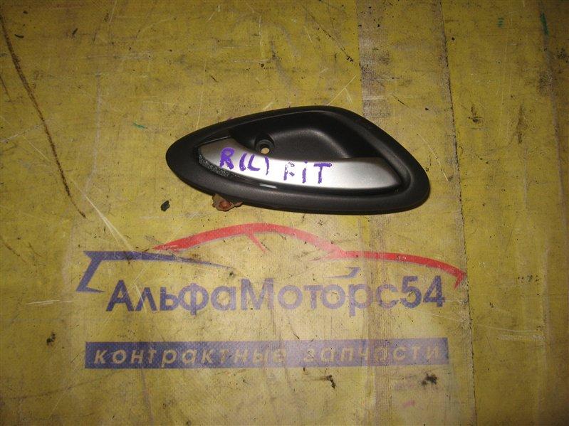 Ручка двери внутренняя Honda Fit GD1 L13A задняя левая
