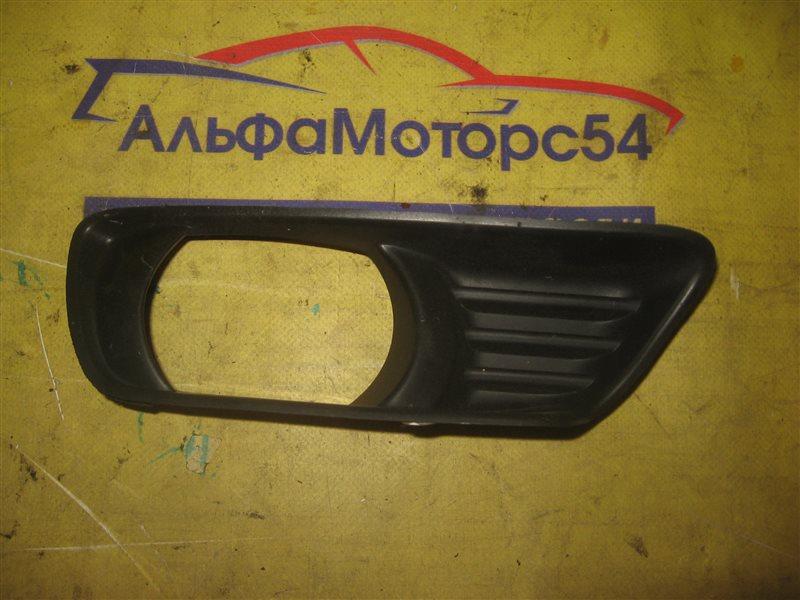 Ободок противотуманной фары Toyota Camry ACV40 2AZ-FE 2007 передний левый