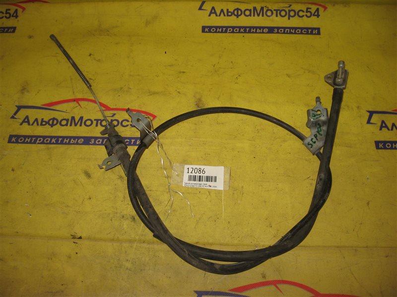 Тросик ручника Toyota Ractis NCP100 1NZ-FE 2006 задний правый