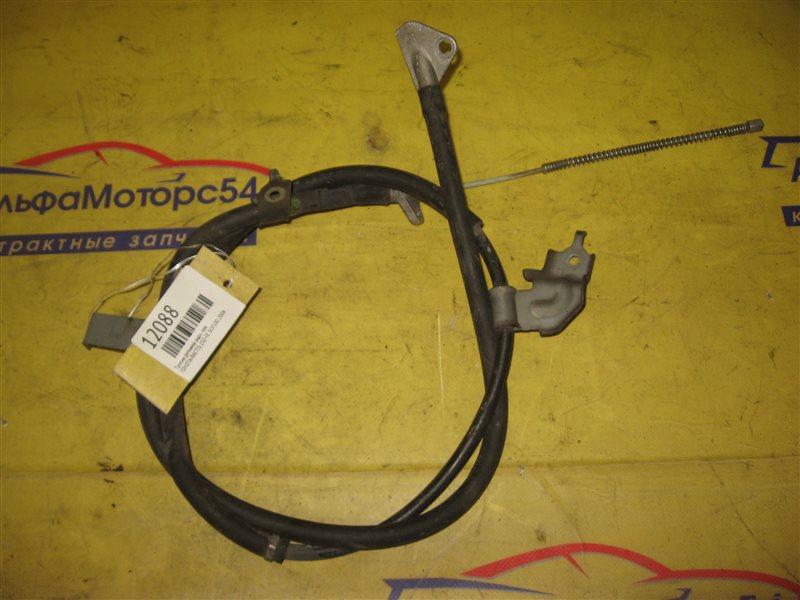 Тросик ручника Toyota Ractis SCP100 2SZ-FE 2006 задний левый