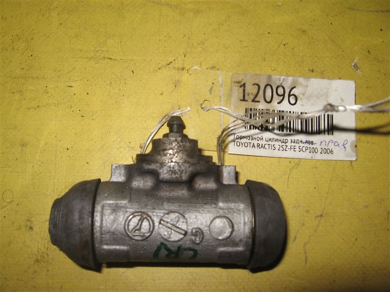 Тормозной цилиндр Toyota Ractis SCP100 2SZ-FE 2006 задний правый