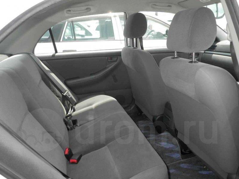 Сидение Toyota Corolla NZE121 1NZ-FE 2006 заднее