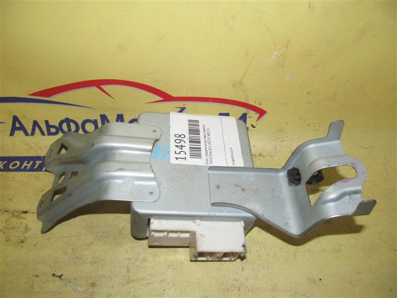 Блок управления рулевой рейкой Toyota Auris NZE151 1NZ-FE