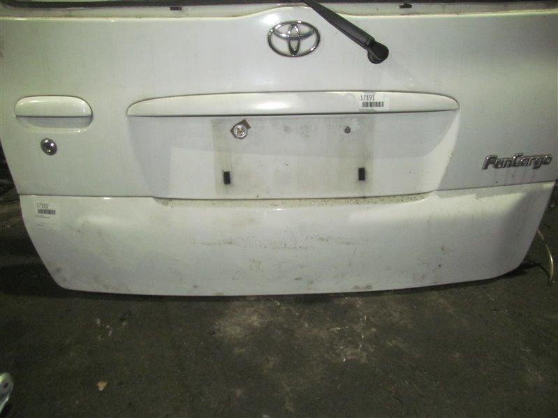 Пластик двери Toyota Funcargo NCP21