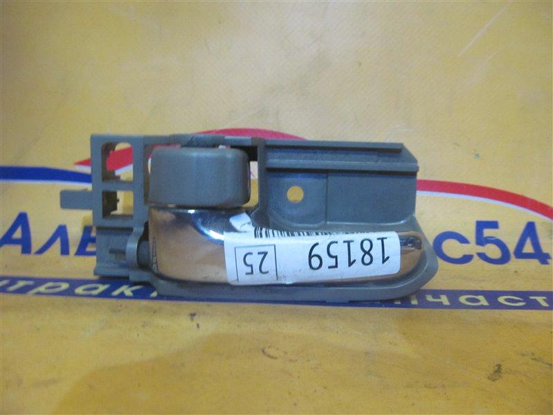 Ручка двери внутренняя Toyota Corolla NZE124 1NZ-FE 2001 задняя левая