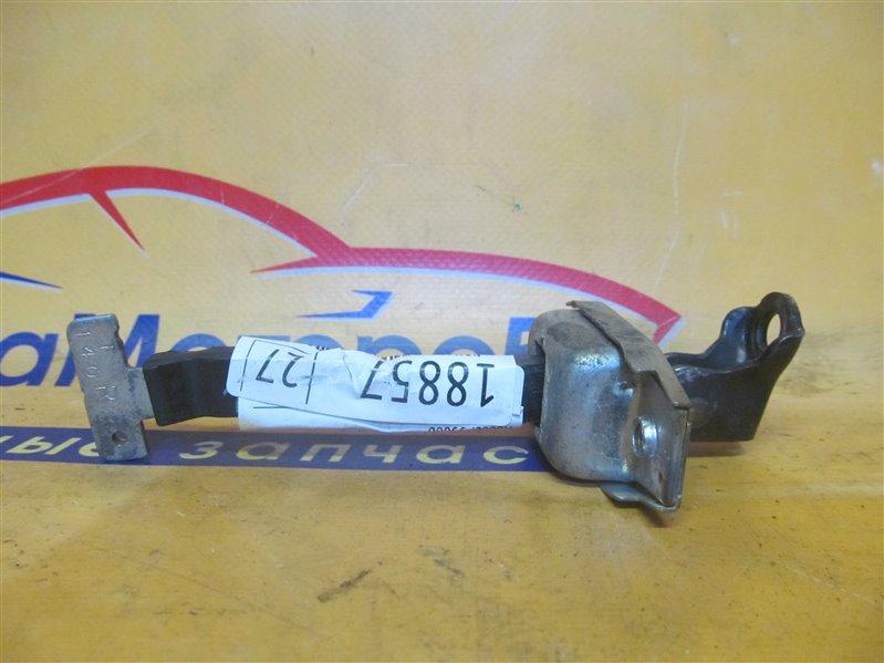Ограничитель двери Toyota Corolla NZE121 1NZ-FE 2001 передний левый