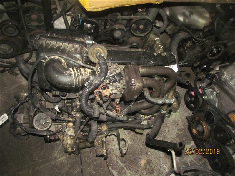 Двигатель Daihatsu Storia M100A EJ-VE