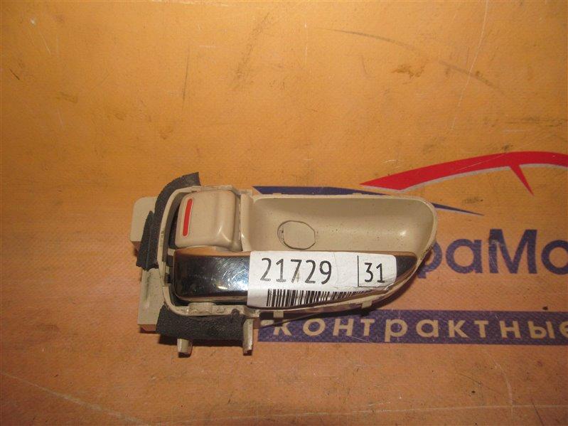 Ручка двери внутренняя Subaru Tribeca WXF EZ36D 2007 задняя левая