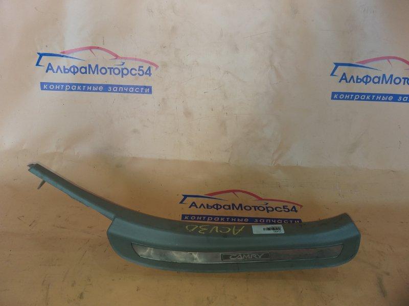 Порожек пластиковый Toyota Camry ACV30 задний правый