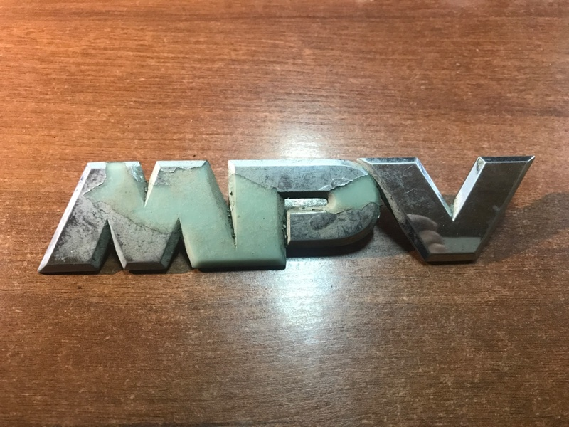 Эмблема Mazda Mpv LW3W AJ-DE