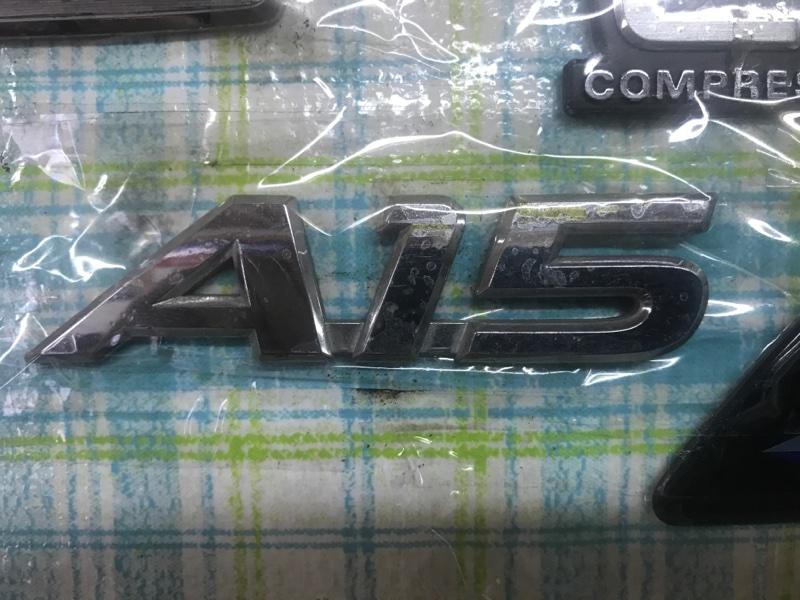 Эмблема Toyota Allion AZT240 1AZ-FSE 2002