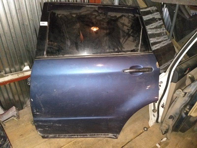 Дверь Subaru Tribeca WXF EZ36D задняя левая