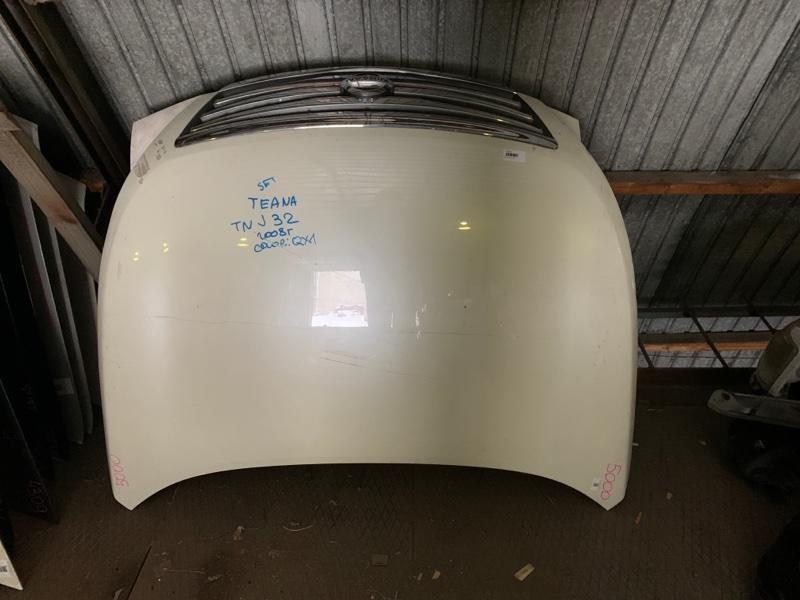 Капот Nissan Teana J32 QR25DE 2008