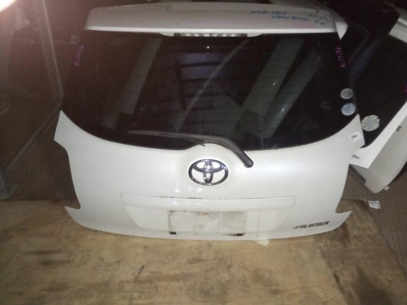 Дверь 5-я Toyota Auris NZE151 1NZ-FE 2006