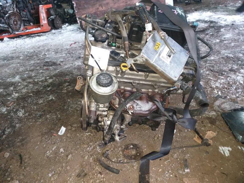 Двигатель Toyota Vitz SCP10 1SZ-FE 2002