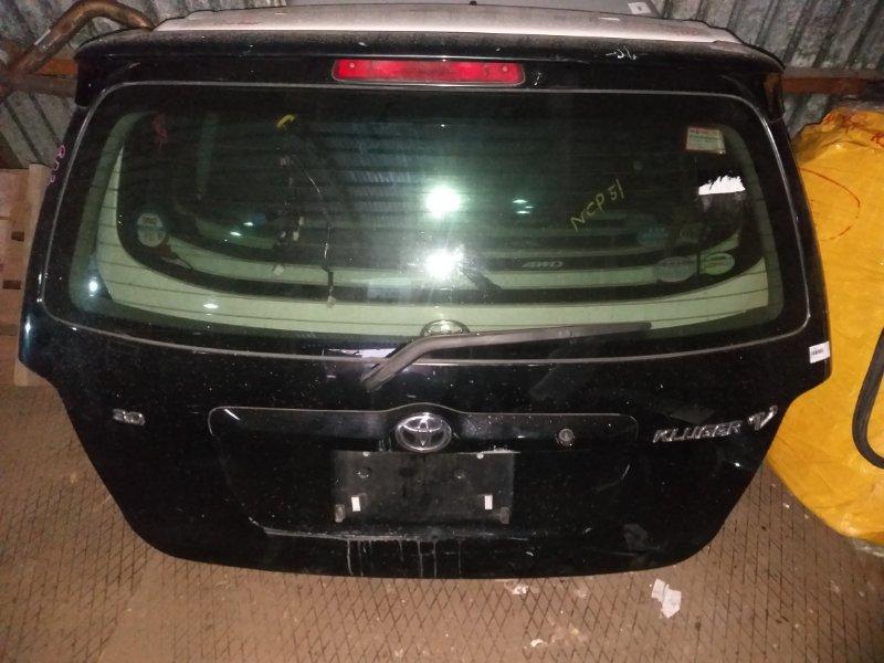 Дверь 5-я Toyota Kluger MCU25 1MZ-FE 2003