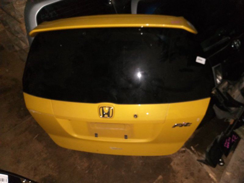 Дверь 5-я Honda Fit GD1 L13A