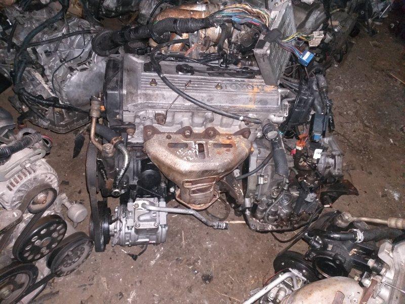 Двигатель Toyota Corsa EL51 4E-FE 1996