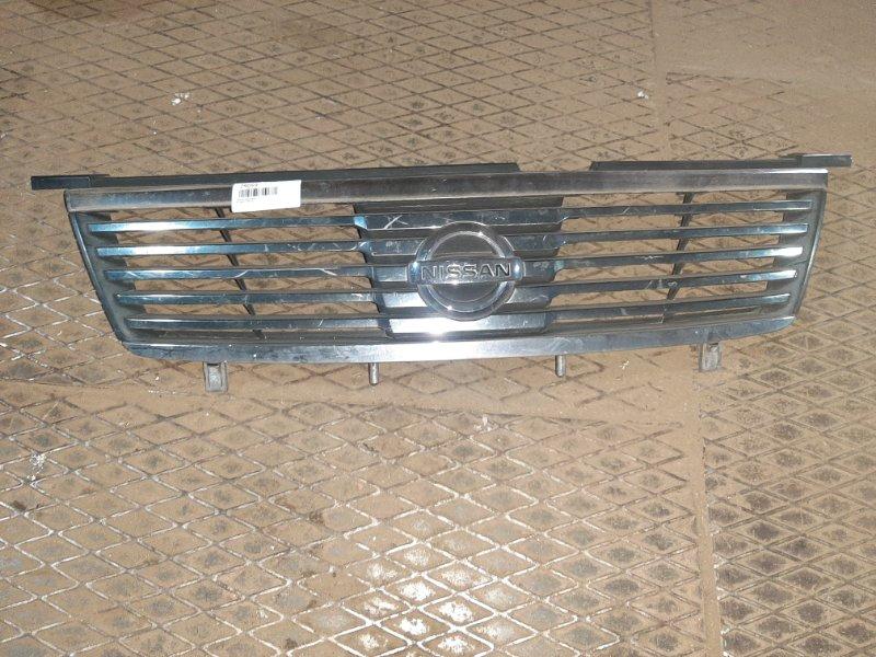 Решетка радиатора Nissan Sunny B15 QG15DE 2003