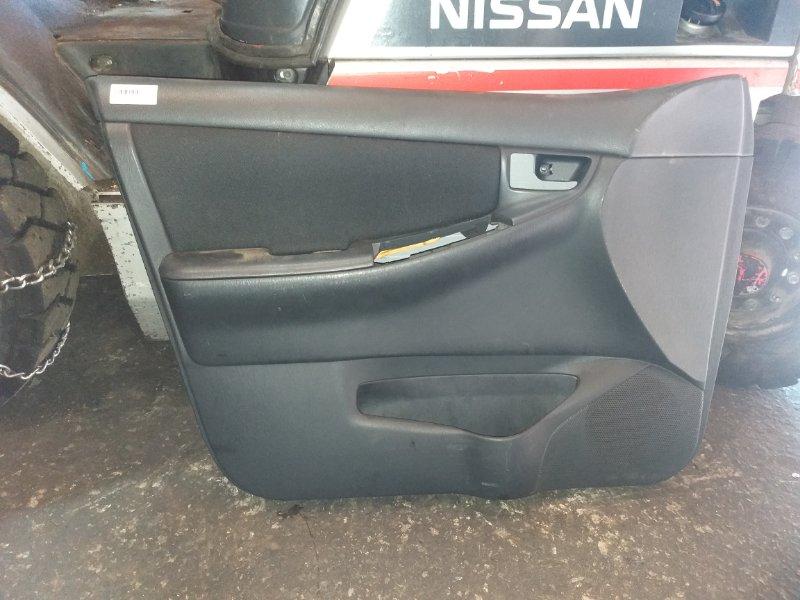 Обшивка дверей Toyota Corolla NZE121 1NZ-FE передняя левая