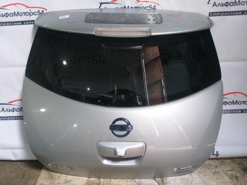 Дверь 5-я Nissan Leaf AZEO EM61 2012