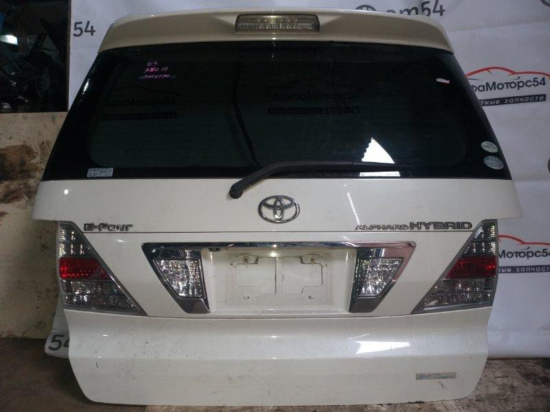 Дверь 5-я Toyota Alphard ANH10 2AZ-FE 2005