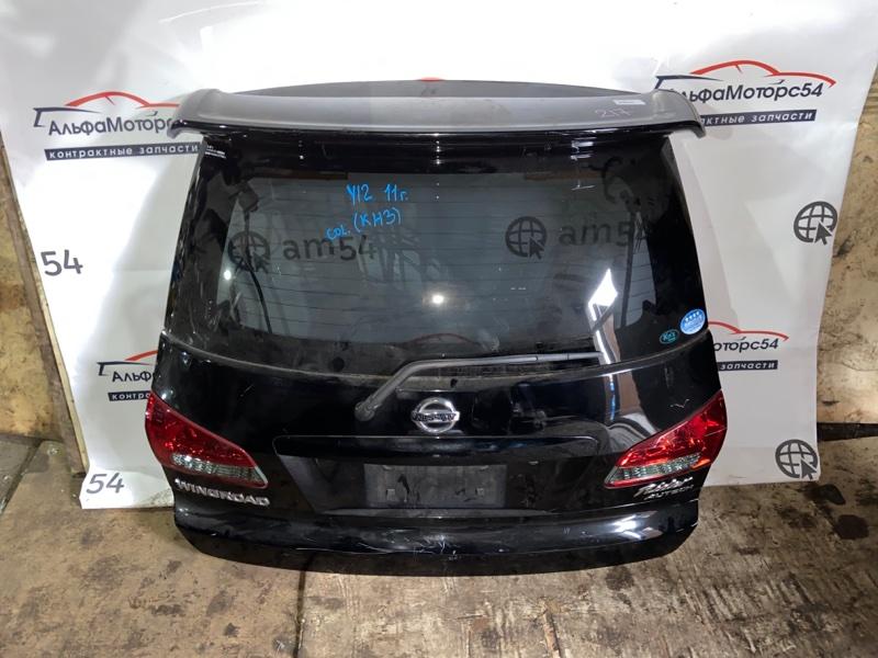 Дверь 5-я Nissan Wingroad Y12 MR18DE 2008