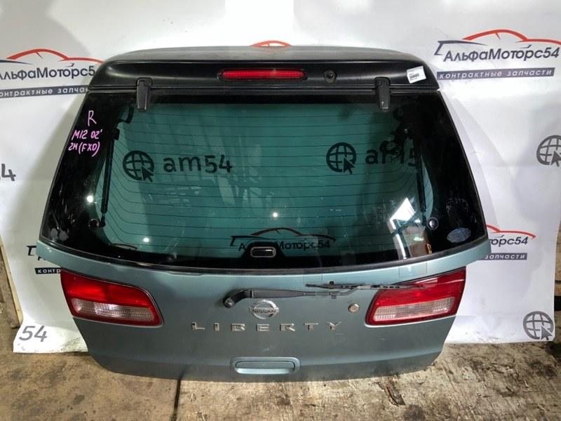 Дверь 5-я Nissan Liberty M12 SR20DE 2002