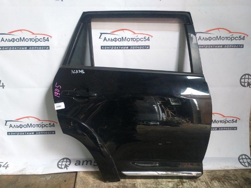 Дверь Toyota Rav4 ACA38 2AZ-FE 2012 задняя правая
