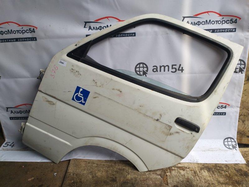 Дверь Toyota Hiace LH186 5L 1999 передняя левая