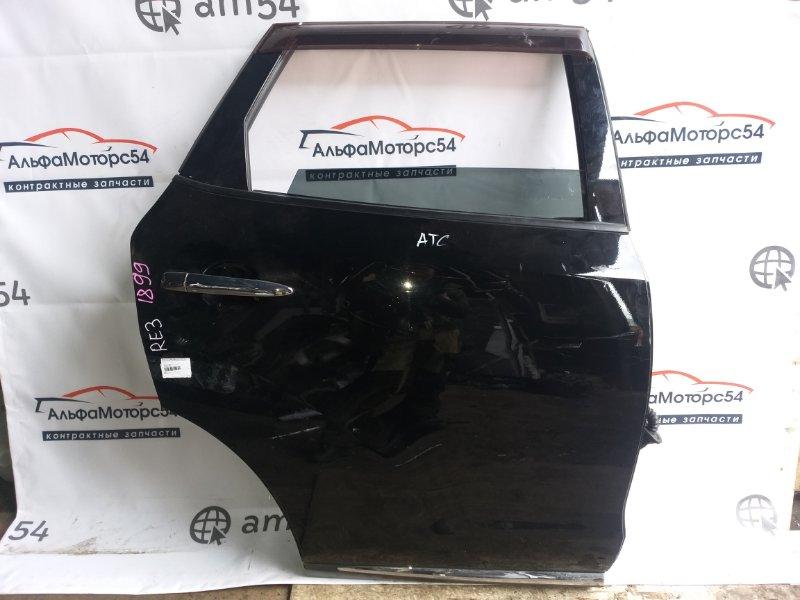 Дверь Nissan Murano Z51 VQ35DE 2012 задняя правая