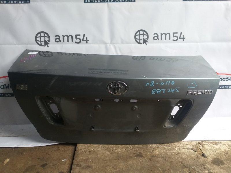 Крышка багажника Toyota Premio ZZT245 1ZZ-FE 2006