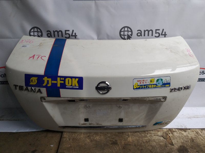 Крышка багажника Nissan Teana J32 QR25DE 2007