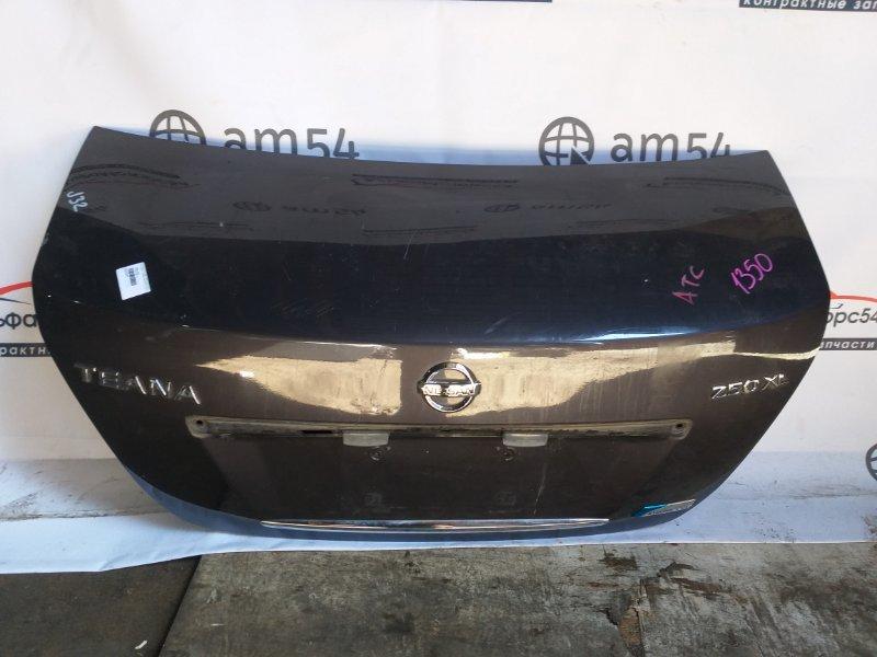 Крышка багажника Nissan Teana J32 QR25DE 2009
