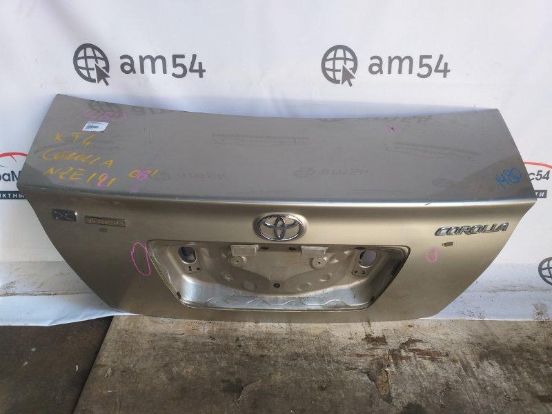 Крышка багажника Toyota Corolla ZZE122 1ZZ-FE 2006