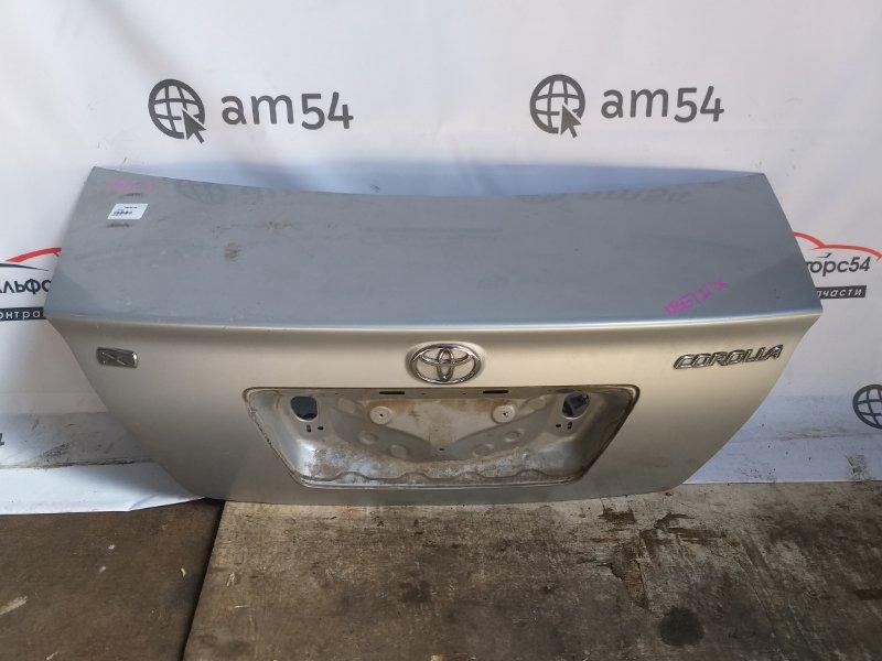 Крышка багажника Toyota Corolla NZE121 1NZ-FE 2006