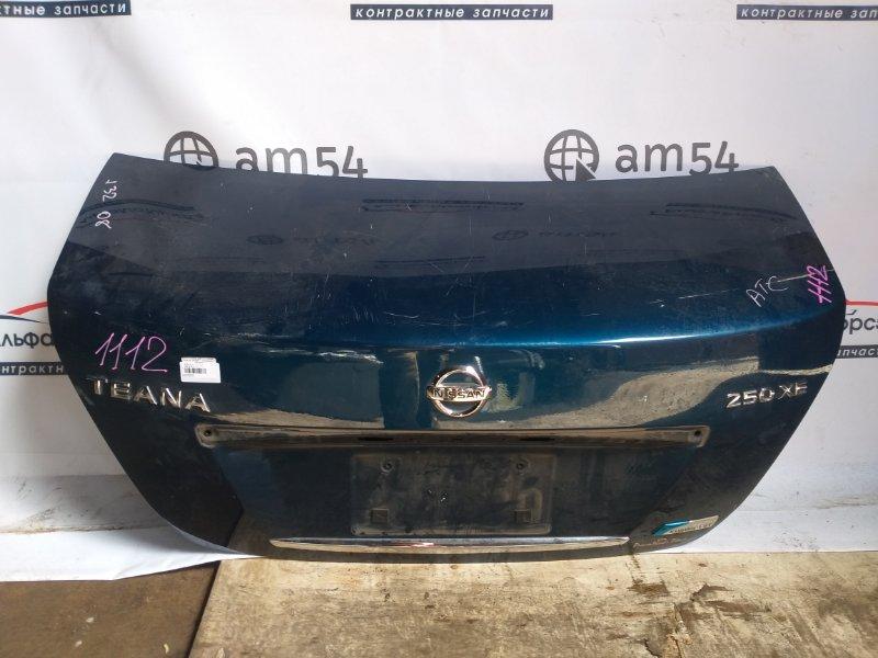 Крышка багажника Nissan Teana J32 QR25DE 2008