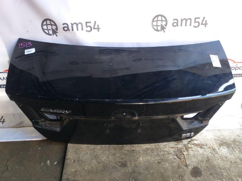 Крышка багажника Toyota Camry AVV50 2AR-FXE 2012