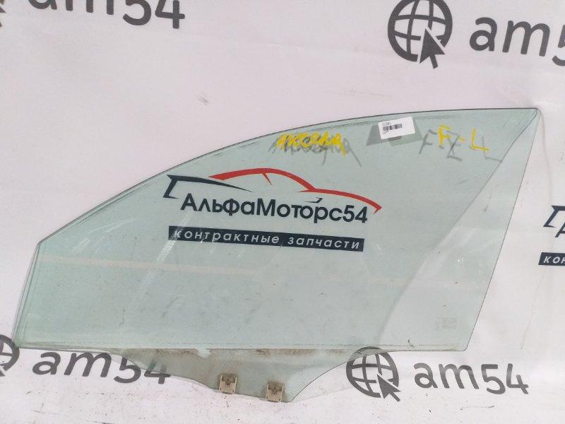 Стекло двери Mazda Mazda 3 BK5P Z6 2007 переднее левое