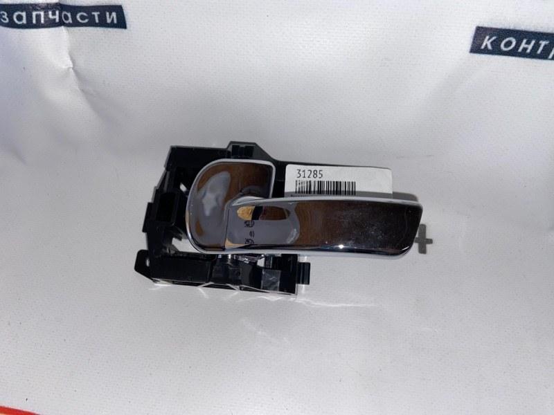 Ручка двери внешняя Nissan Qashqai J10E MR20DE 2007 передняя левая