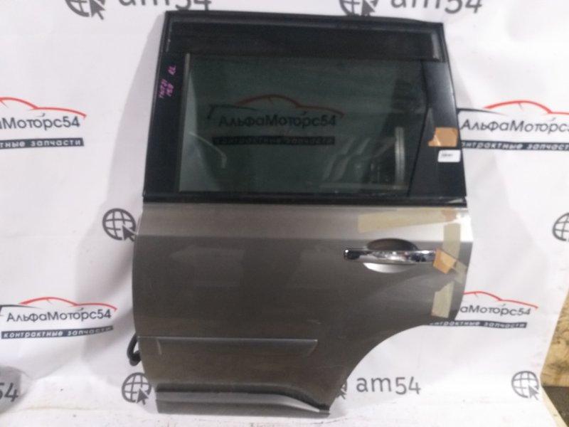 Дверь Nissan X-Trail T31 QR25DE 2008 задняя левая