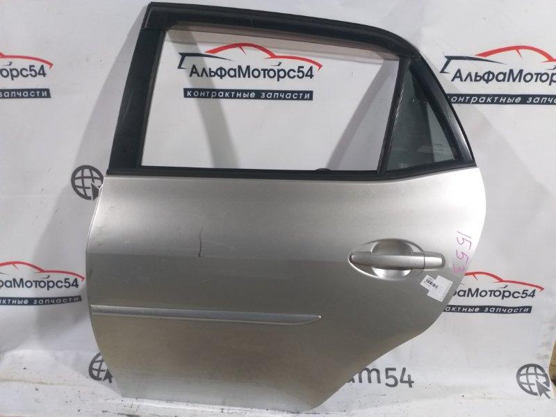 Дверь Toyota Auris NZE151 1NZ-FE 2007 задняя левая
