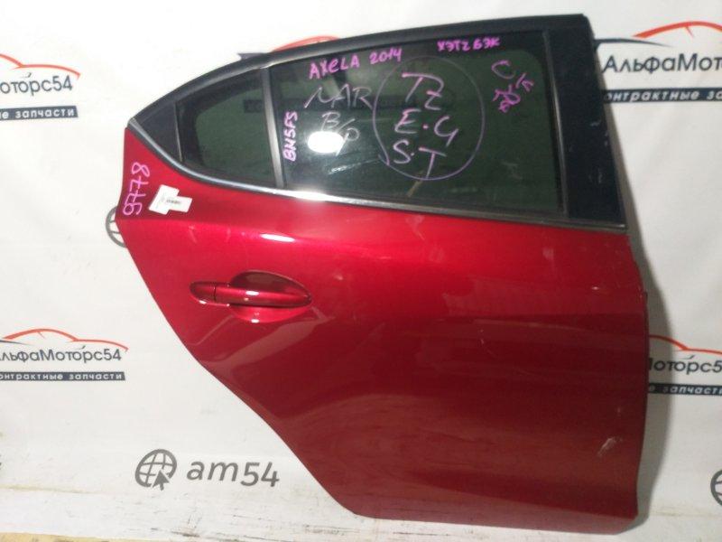 Дверь Mazda Axela BM5FS задняя правая